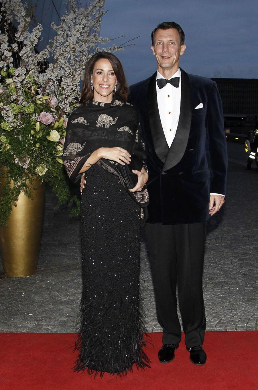 La princesse Marie et le prince Joachim de Danemark à Copenhague, le 29 mars 2017