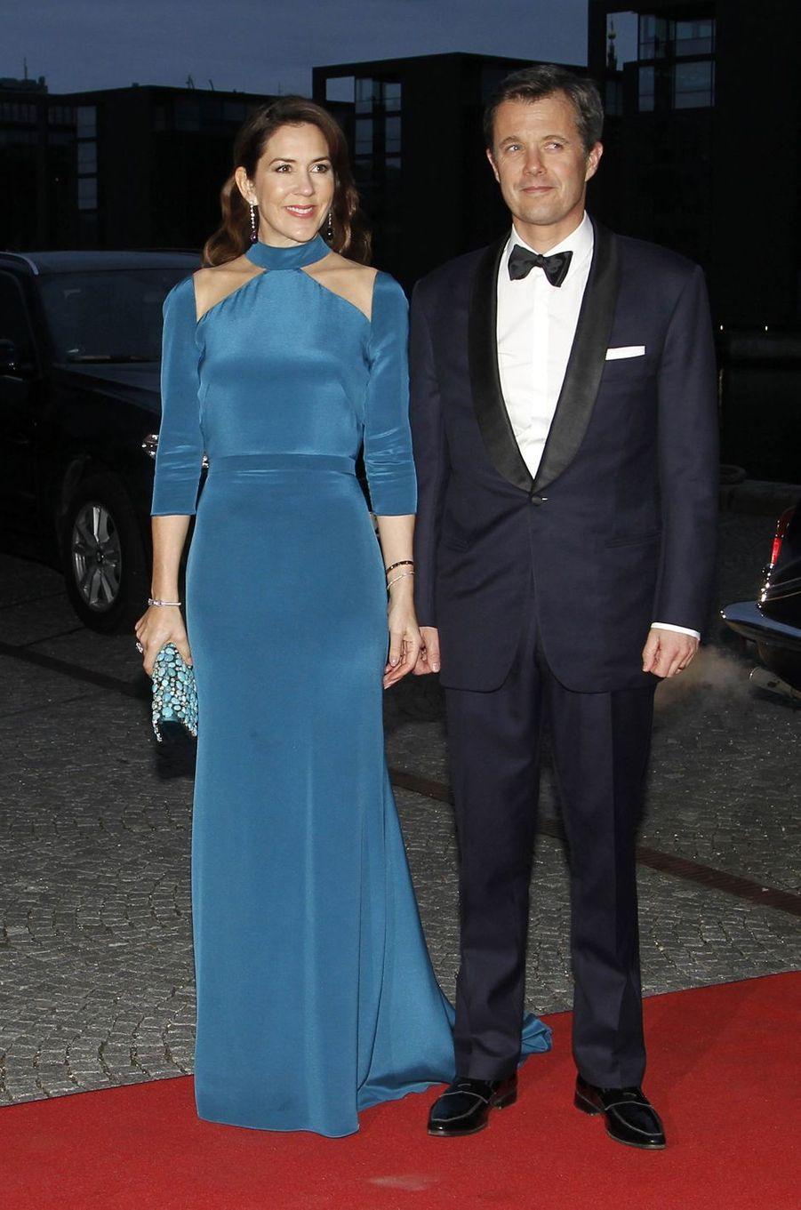La princesse Mary et le prince Frederik de Danemark à Copenhague, le 29 mars 2017