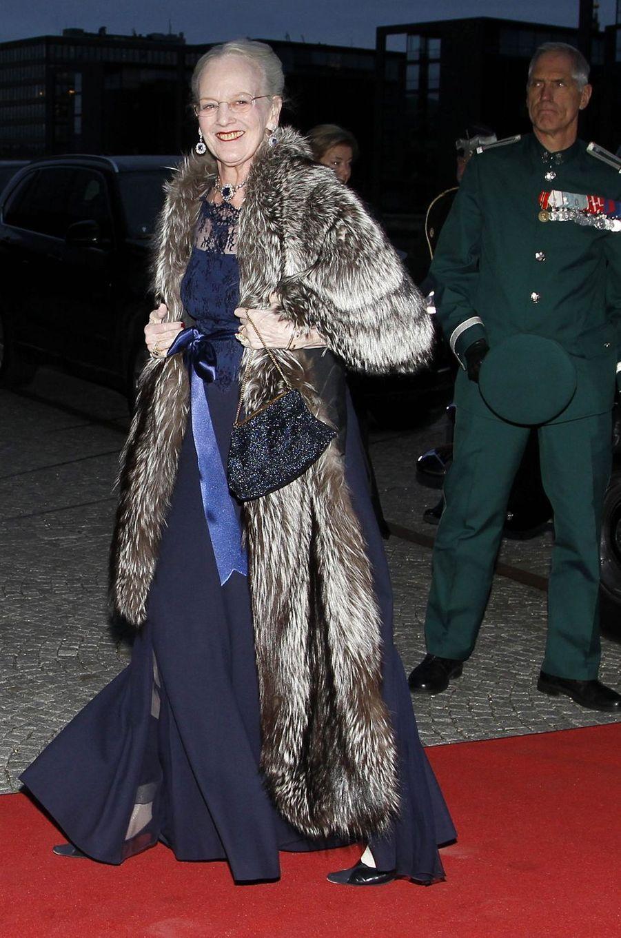 La reine Margrethe II de Danemark à Copenhague, le 29 mars 2017