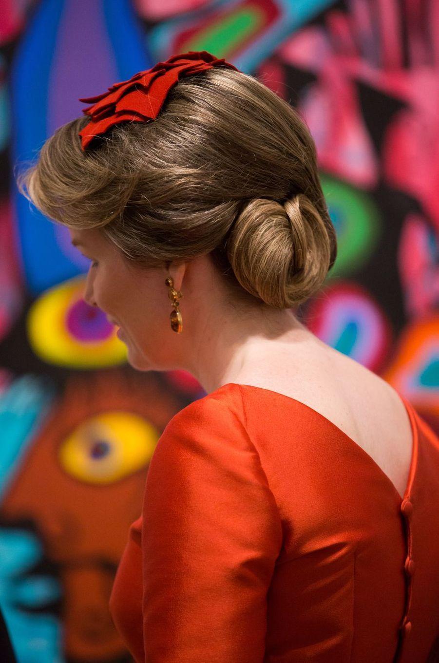 La reine des Belges Mathilde à Ottawa, le 13 mars 2018