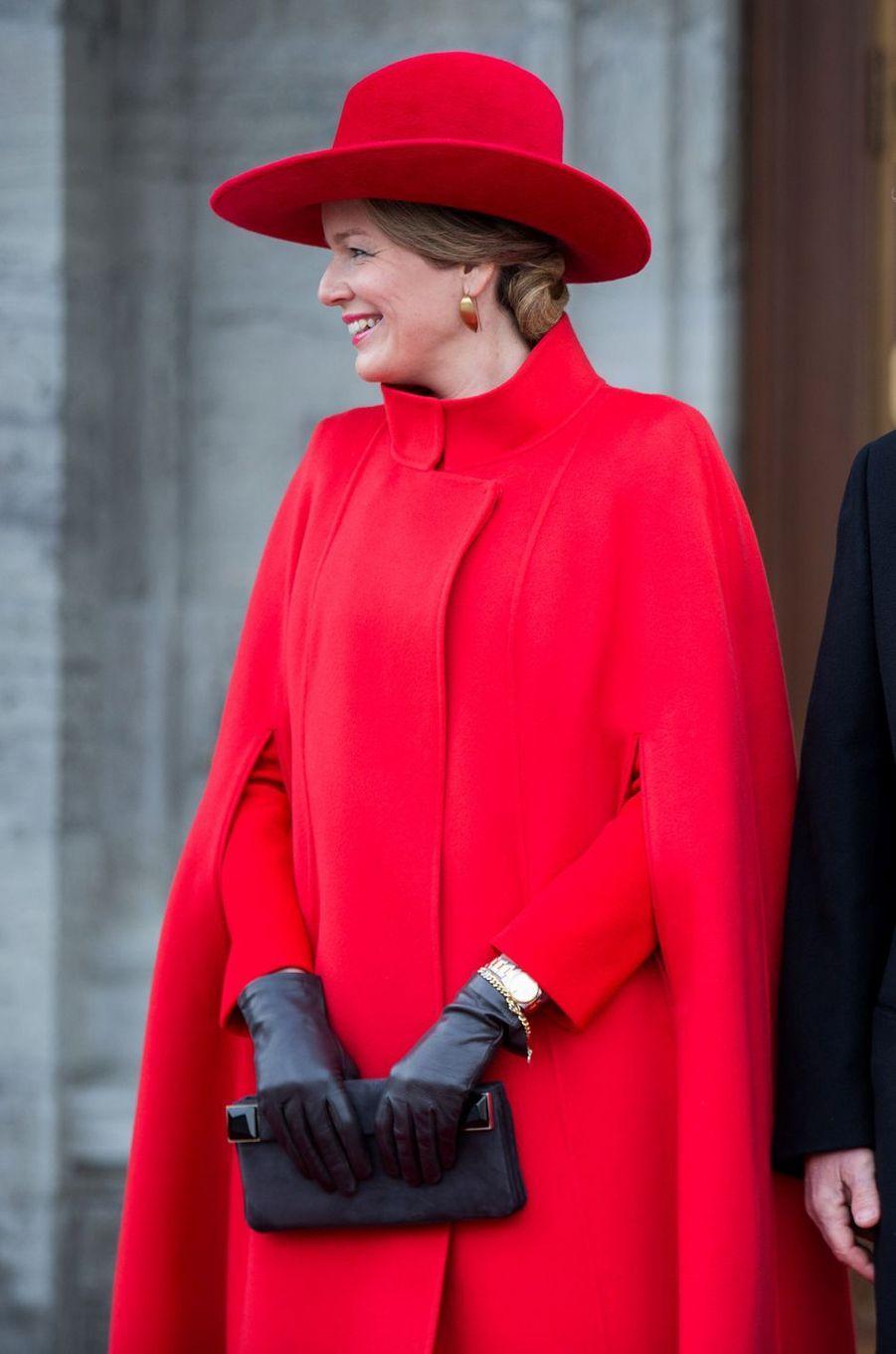 La reine des Belges Mathilde à Ottawa au Canada, le 12 mars 2018