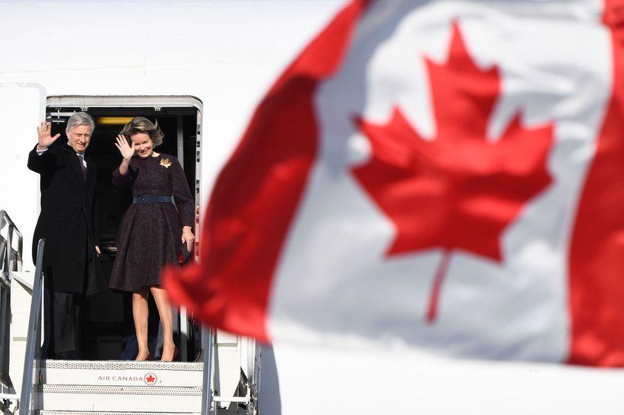 La reine des Belges Mathilde à Montréal, le 17 mars 2018