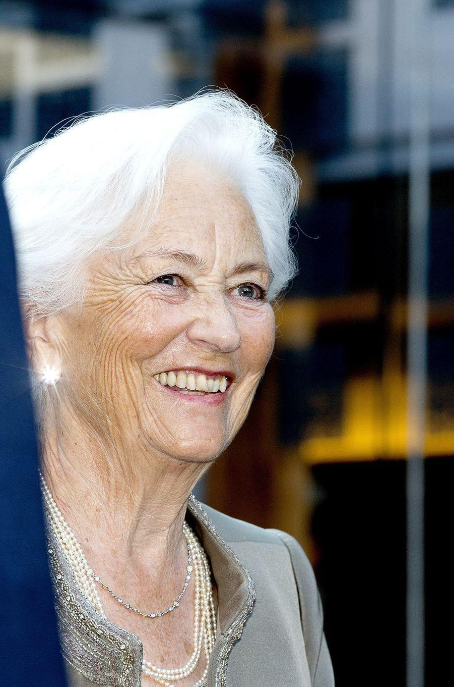 L'ex-reine des Belges Paola, le 29 juin 2017