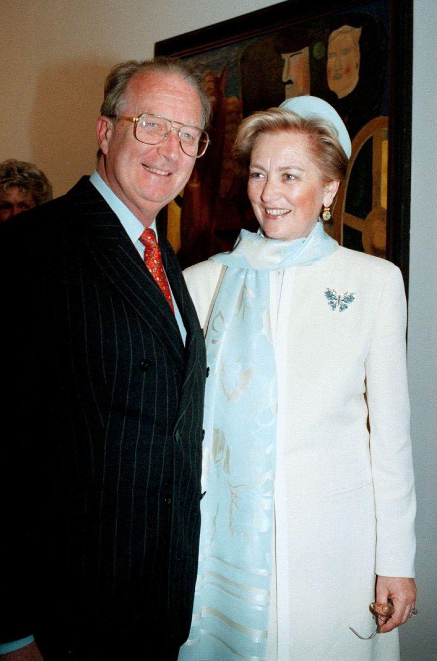 La reine des Belges Paola et le roi Albert II, le 22 mars 1997