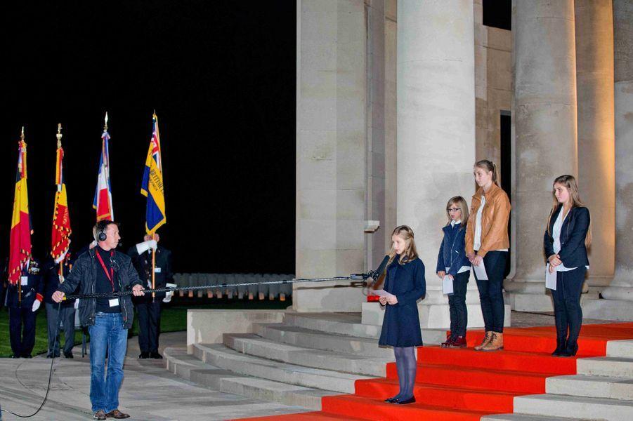 La princesse Elisabeth de Belgique fait son premier discours officiel, le 17 octobre 2014
