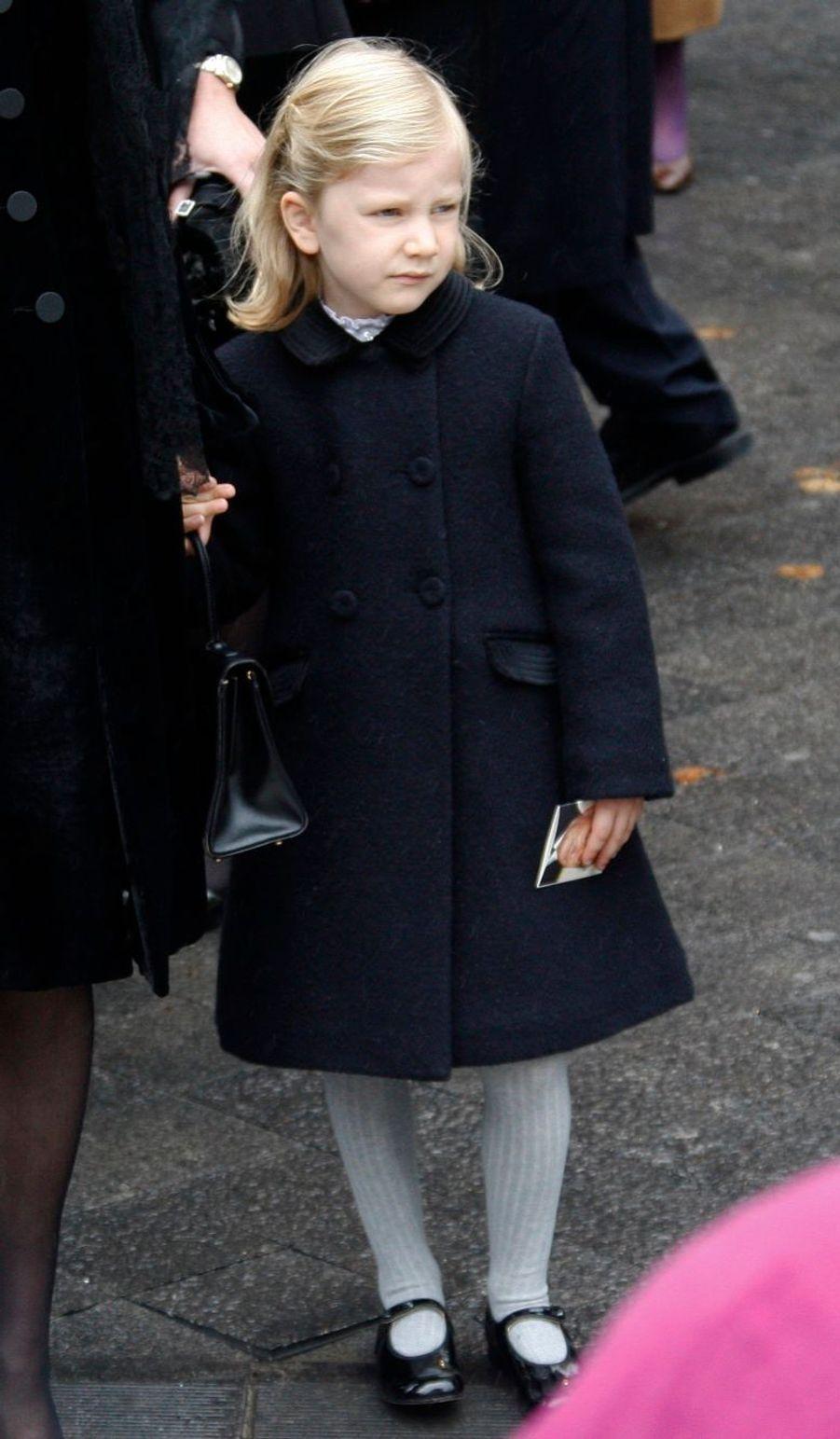 La princesse Elisabeth de Belgique, le 1er octobre 2008