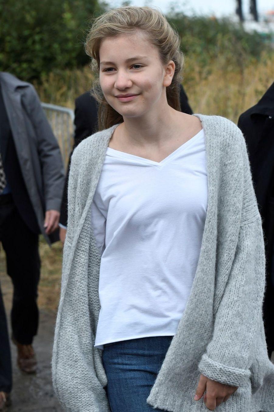 La princesse Elisabeth de Belgique, le 2 octobre 2016