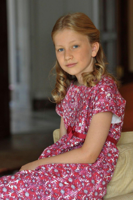 La princesse Elisabeth de Belgique, le 28 décembre 2012