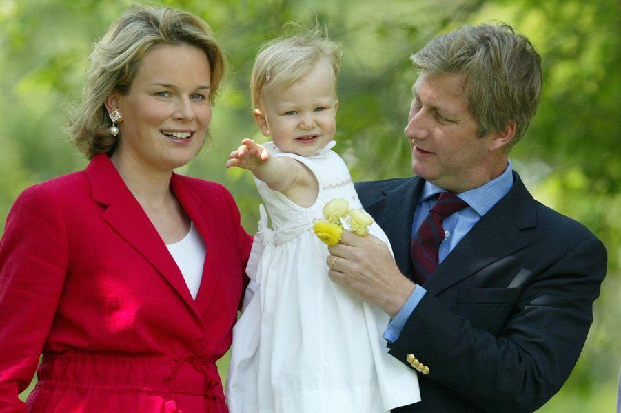 La princesse Elisabeth de Belgique le 28 mai 2003