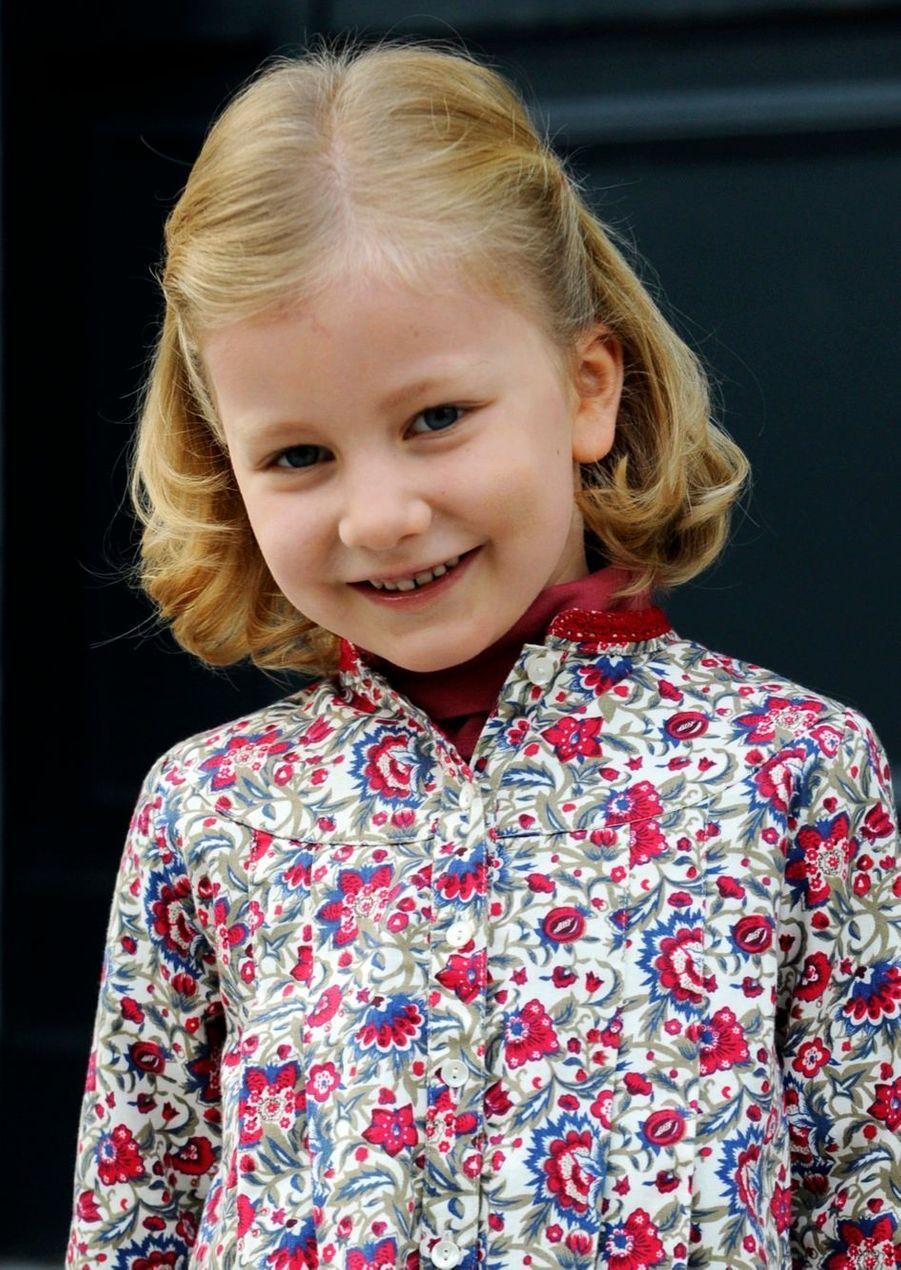La princesse Elisabeth de Belgique, le 4 janvier 2009