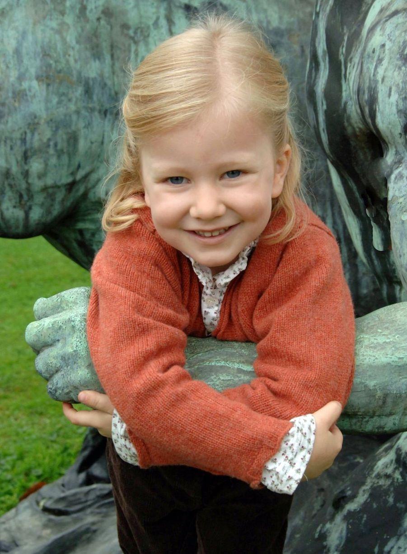 La princesse Elisabeth de Belgique, le 5 octobre 2006
