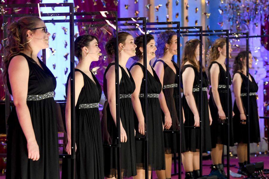 Concert de Noël au Palais royal à Bruxelles, le 16 décembre 2020