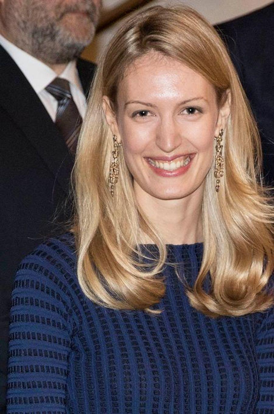 Elisabetta née Rosboch von Wolkenstein à Bruxelles, le 31 mars 2015