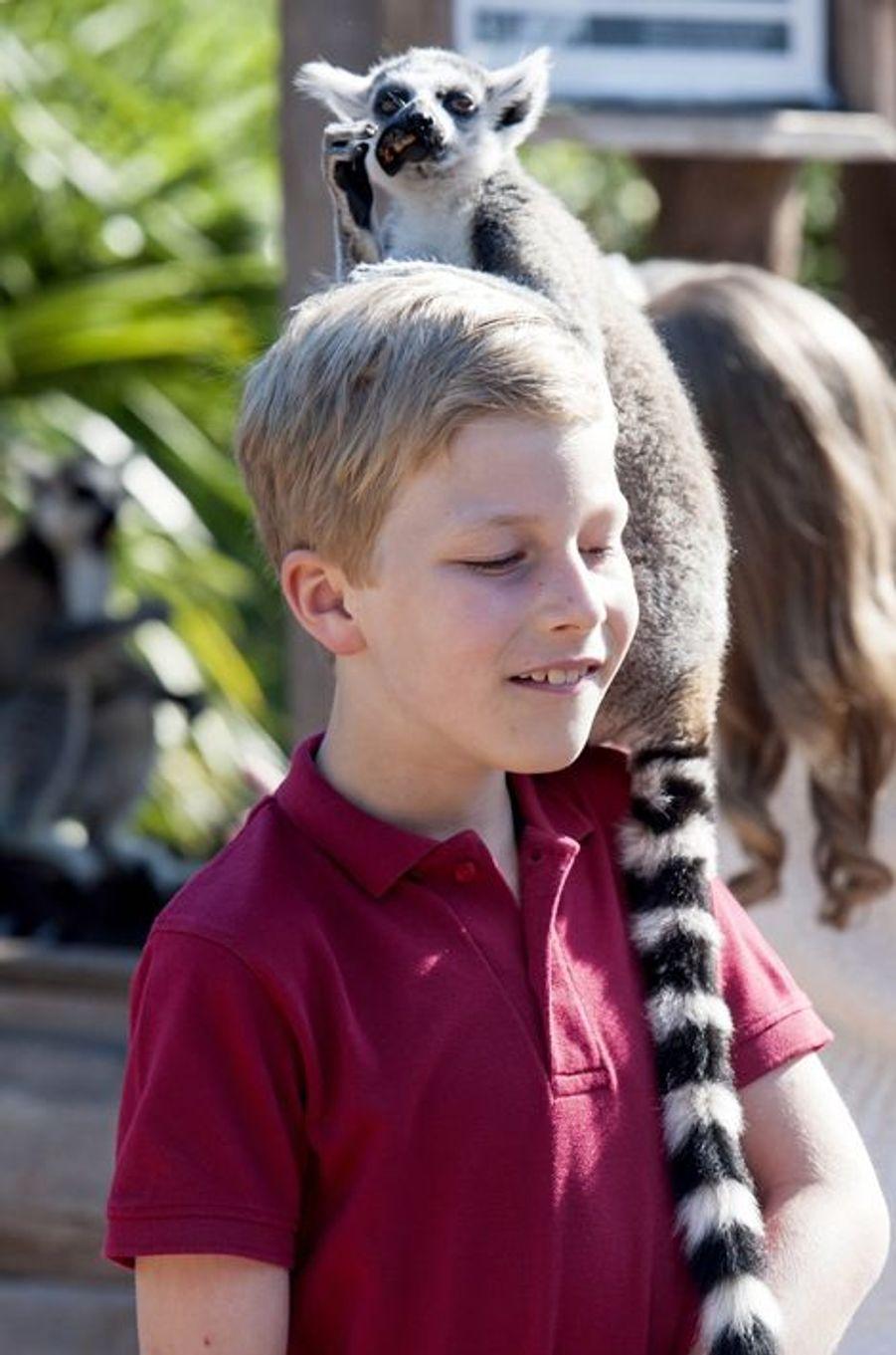 Le prince Emmanuel de Belgique au Pairi Daiza à Brugelette, le 11 juillet 2015