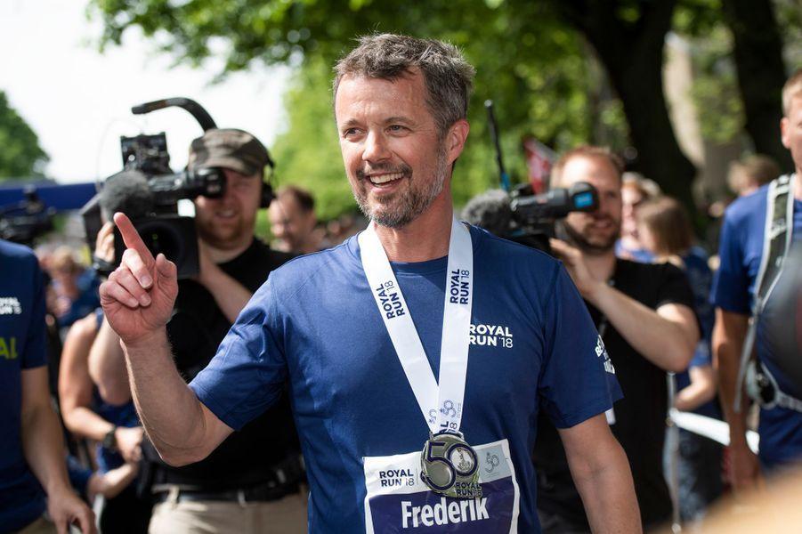 Le prince Frederik de Danemark, le 21 mai 2018