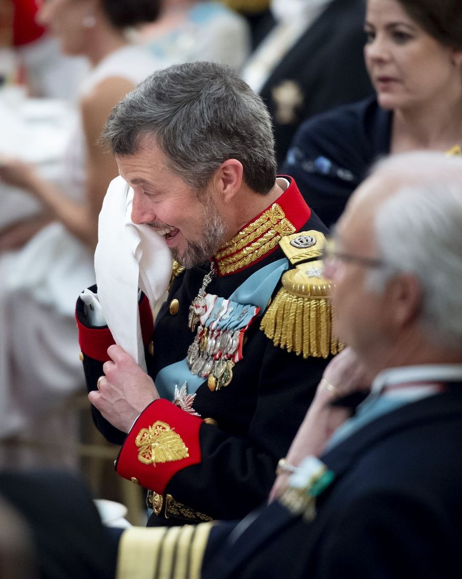 Le prince Frederik de Danemark, le 26 mai 2018