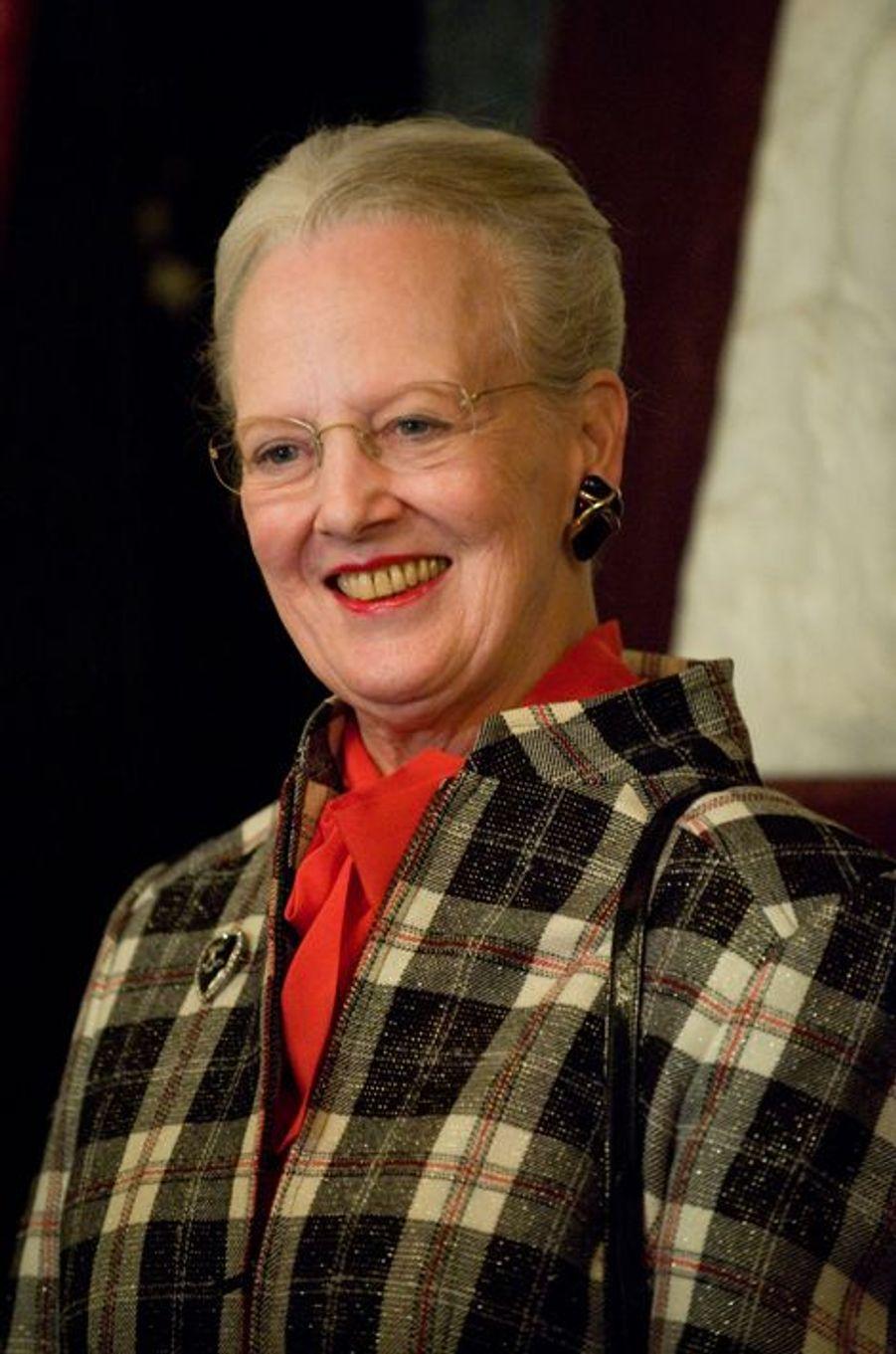 La reine Margrethe II de Danemark, le 1er novembre 2010