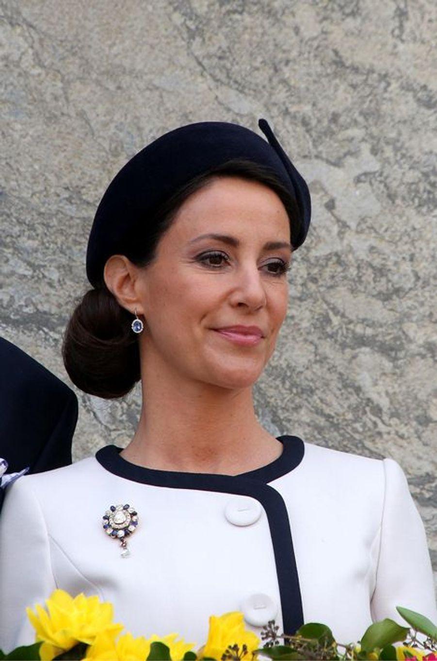 La princesse Marie de Danemark à Aarhus, le 8 avril 2015