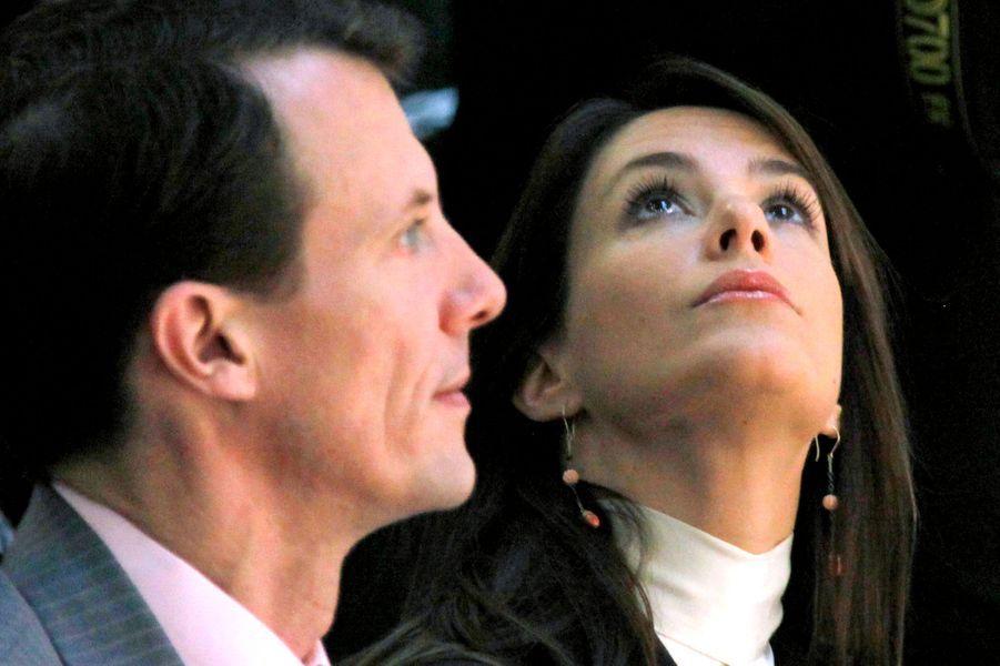 La princesse Marie avec le prince Joachim de Danemark, le 29 novembre 2009