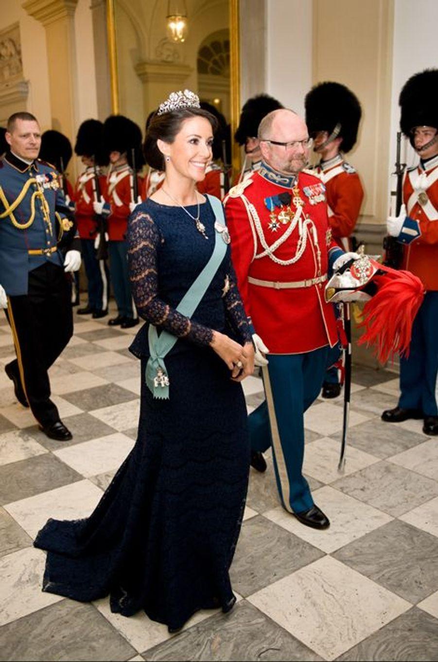 La princesse Marie de Danemark, le 15 avril 2015
