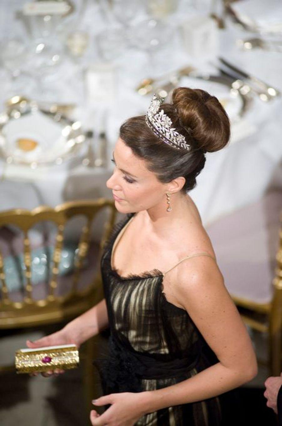 La princesse Marie de Danemark, le 16 avril 2010