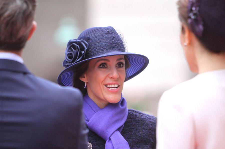 La princesse Marie de Danemark, le 7 octobre 2014