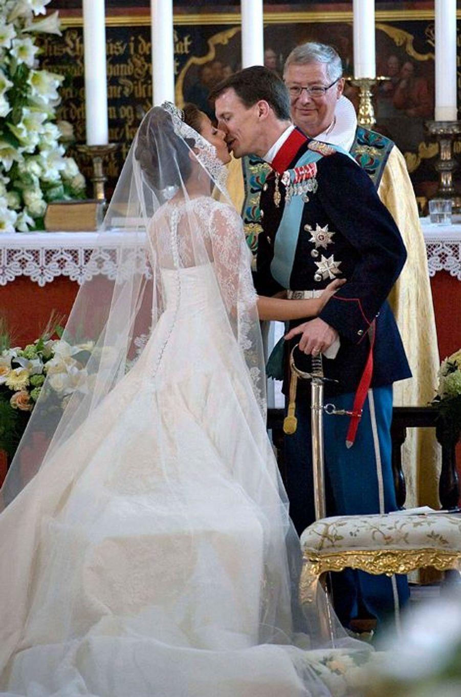 Marie Cavallier épouse le prince Joachim de Danemark, le 24 mai 2008