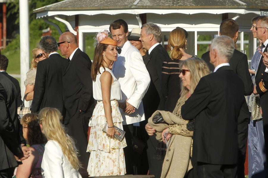 La princesse Marie et le prince Joachim de Danemark à Klampenborg, le 14 juin 2017