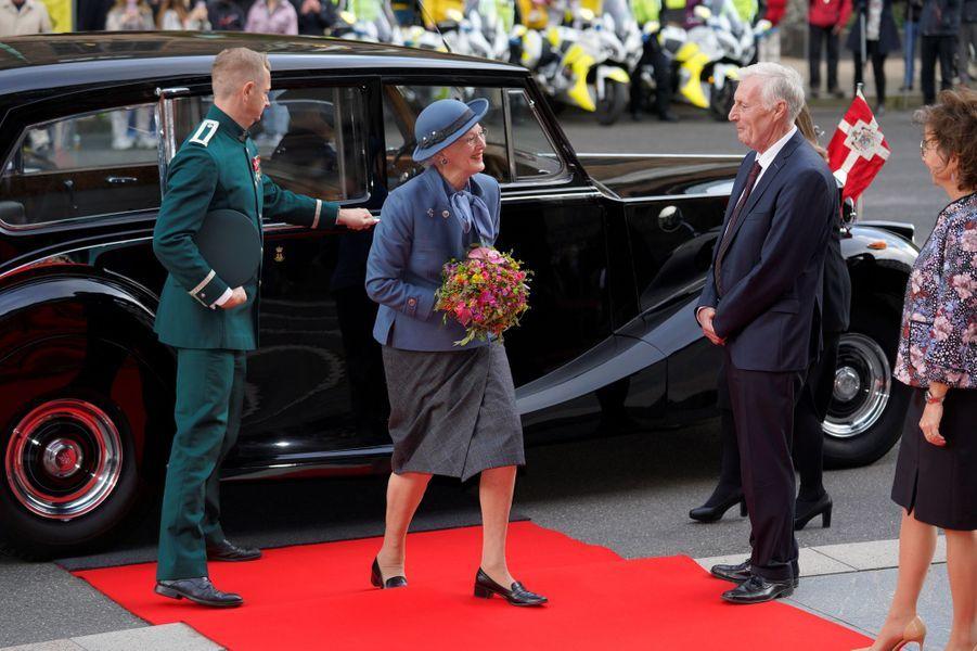 La reine Margrethe II de Danemark à Copenhague, le 6 octobre 2020