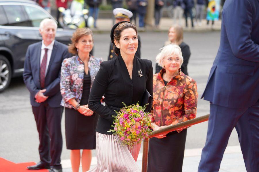 La princesse Mary de Danemark à Copenhague, le 6 octobre 2020