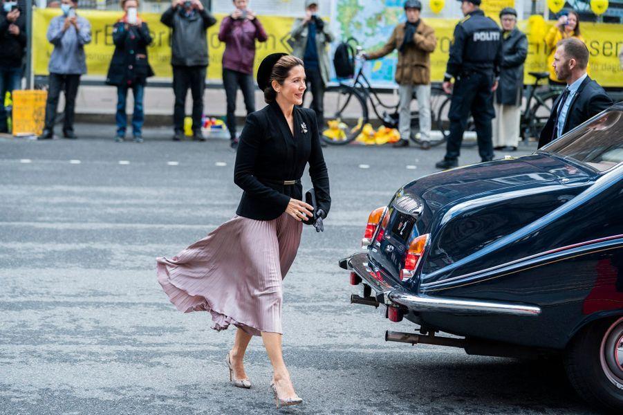 La princesse Mary de Danemark, le 6 octobre 2020 à Copenhague