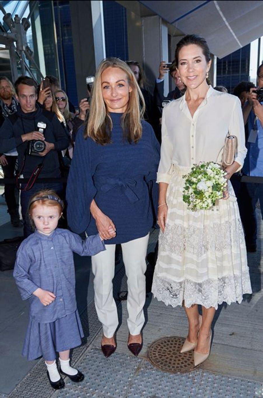 La princesse Mary de Danemark à Copenhague, le 12 mai 2016