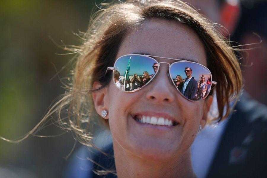 La princesse Marie du Danemark à Rio de Janeiro, le 2 août 2016