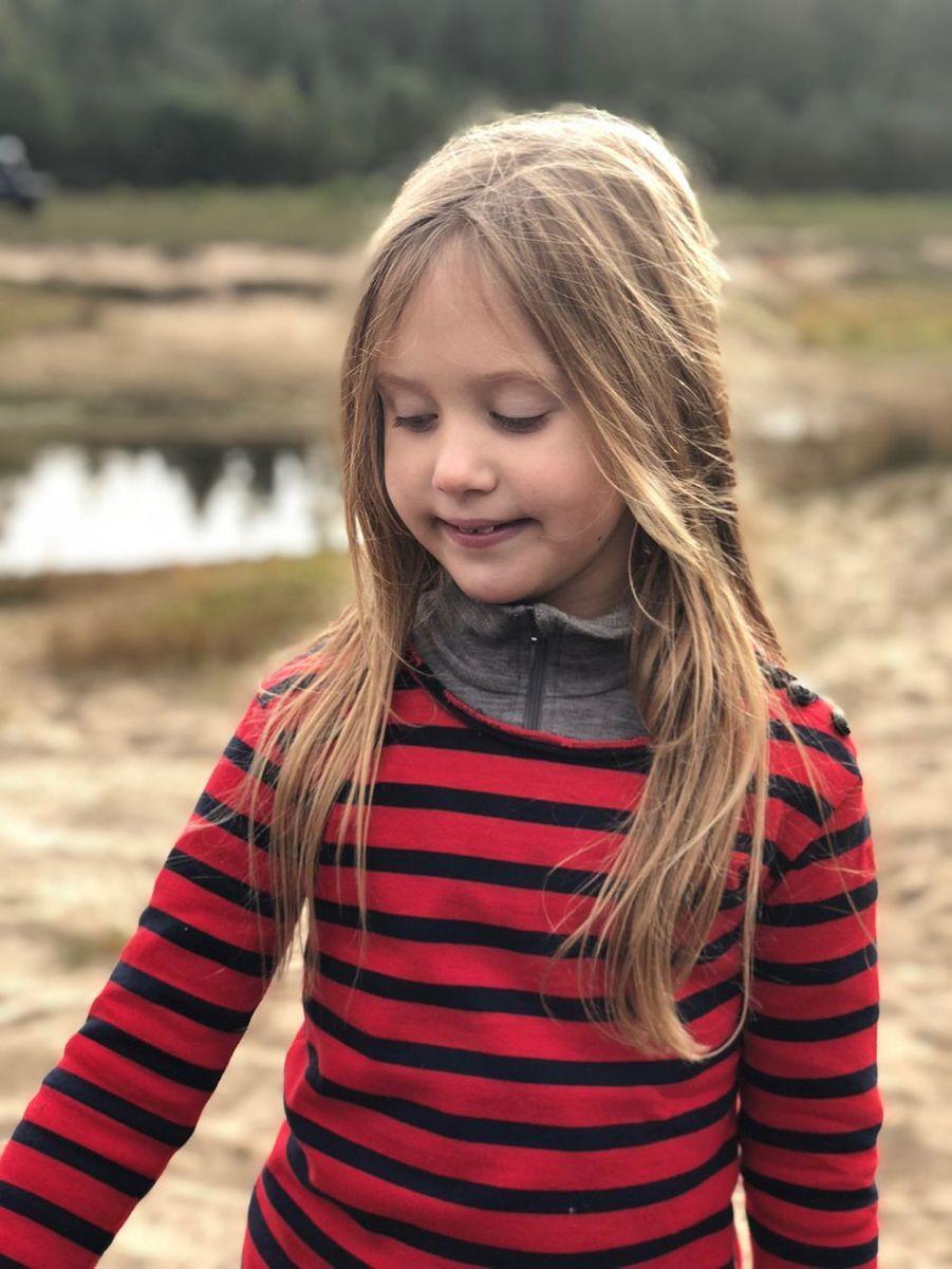 Portrait de la princesse Josephine diffusé pour ses 8 ans, le 8 janvier 2019