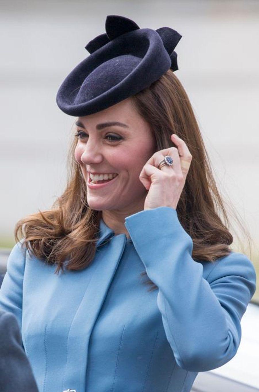 La duchesse de Cambridge au diapason de ses Cadets