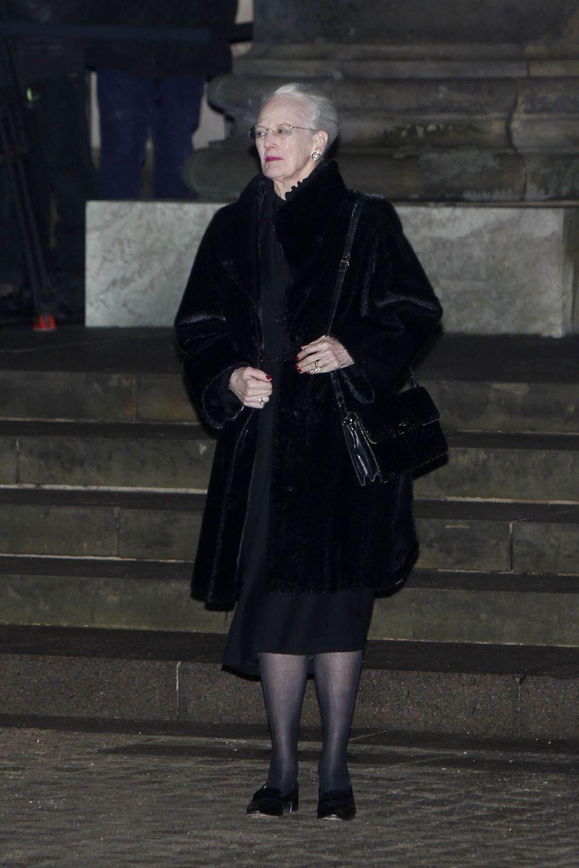 La reine Margrethe II de Danemark à Copenhague, le 16 février 2018