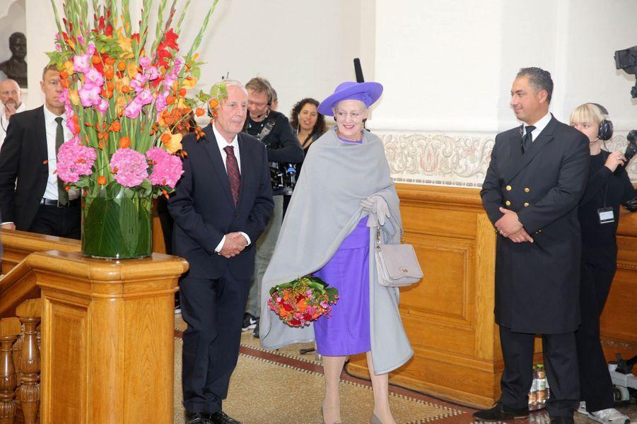 La reine Margrethe II de Danemark à Copenhague, le 1er octobre 2019