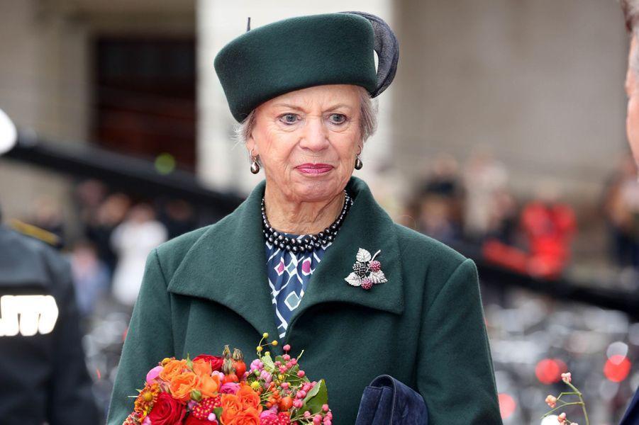 La princesse Benedikte de Danemark à Copenhague, le 1er octobre 2019