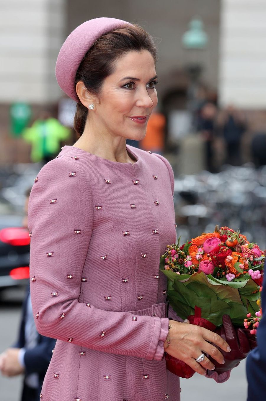 La princesse Mary de Danemark, à Copenhague le 1er octobre 2019