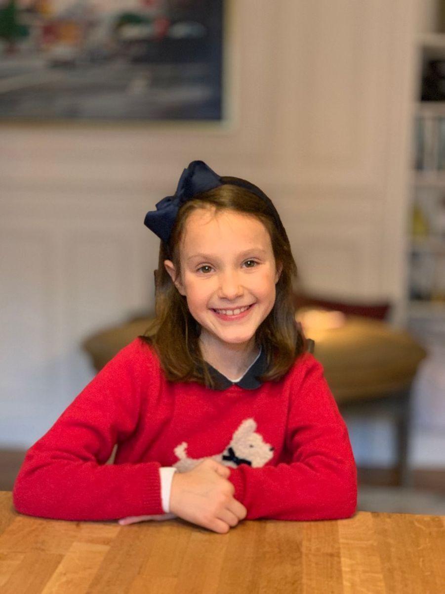 La princesse Athena de Danemark. Photo dévoilée pour son 8e anniversaire, le 24 janvier 2020