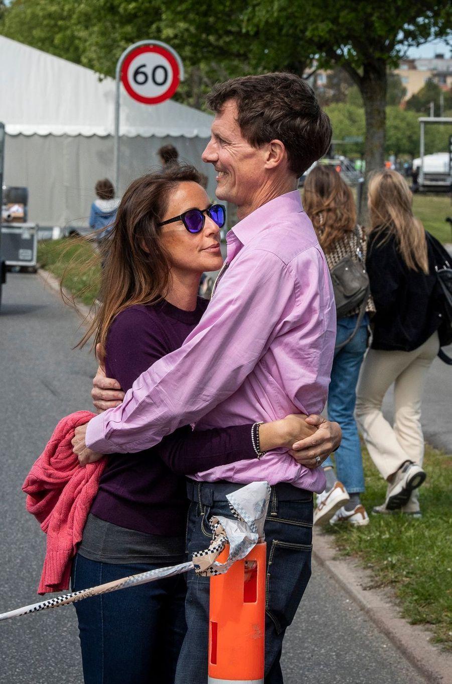 La princesse Marie et le prince Joachim de Danemark à Aarhus, le 16 mai 2019