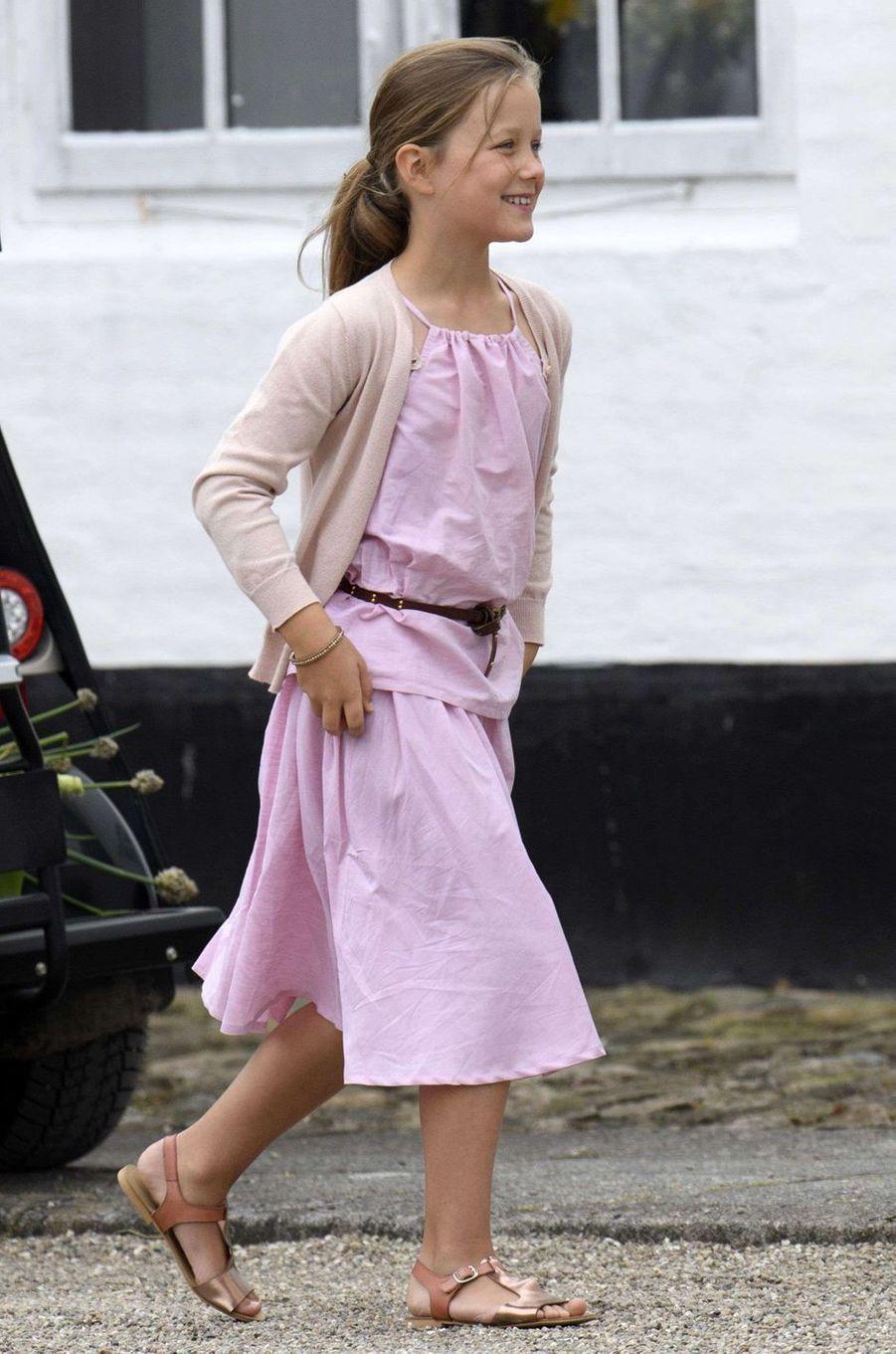 La princesse Isabella de Danemark, le 15 juillet 2016