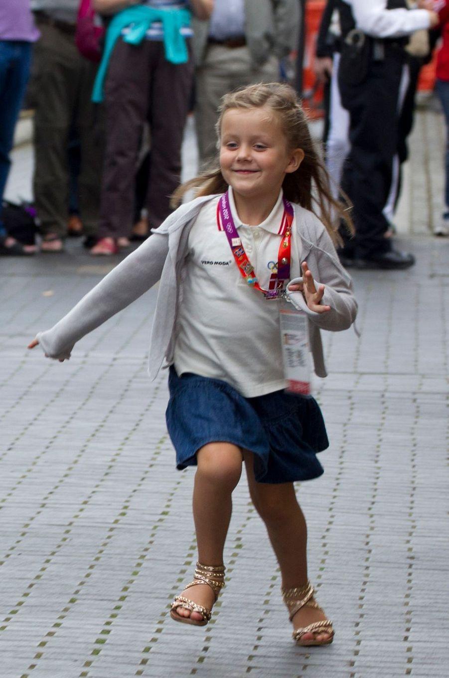 La princesse Isabella de Danemark, le 7 août 2012