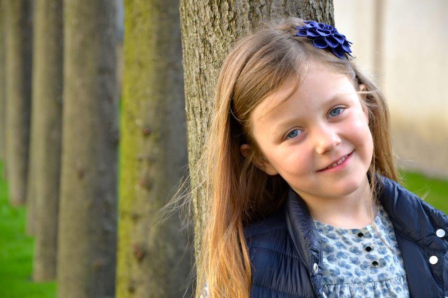 La princesse Isabella de Danemark, photo diffusée pour ses 6 ans, le 21 avril 2013