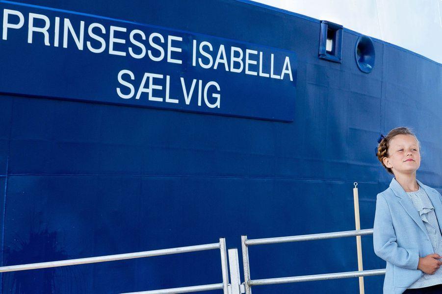La princesse Isabella de Danemark, le 6 juin 2015