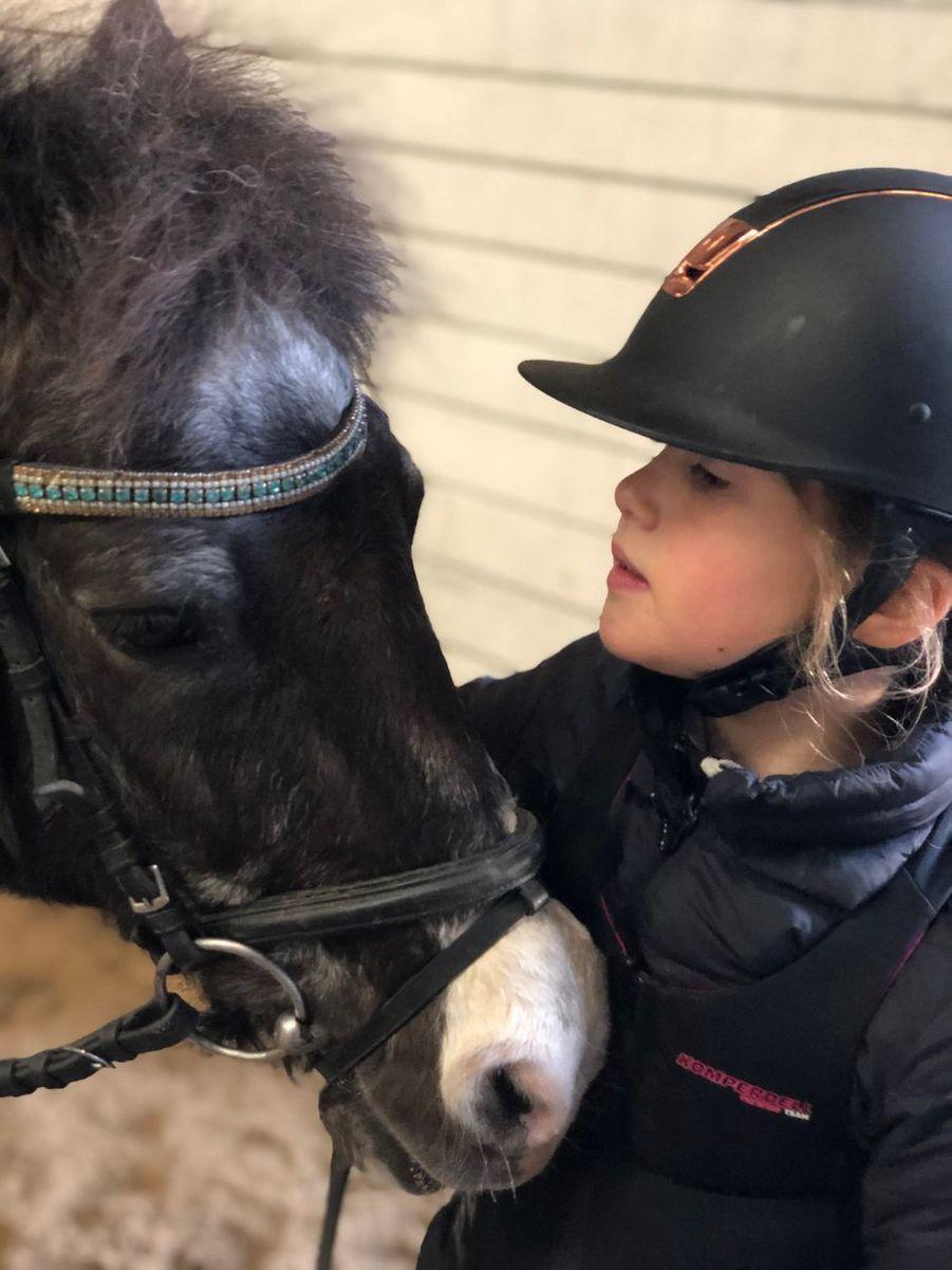La princesse Josephine de Danemark. L'une des photos diffusées le 8 janvier 2020 pour ses 9 ans