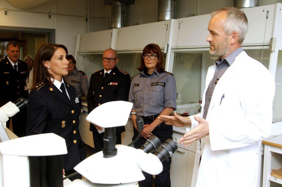 La princesse Marie de Danemark à Copenhague, le 7 septembre 2017