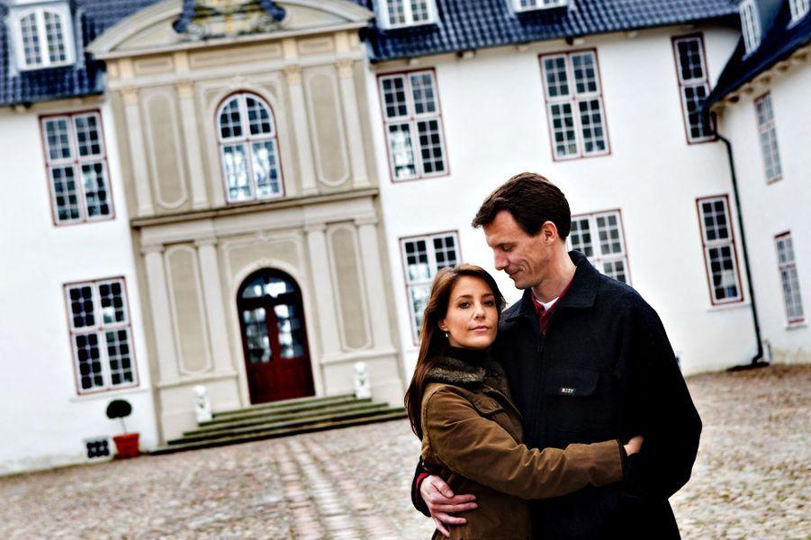 Marie Cavallier avec le prince Joachim de Danemark, le 30 avril 2008