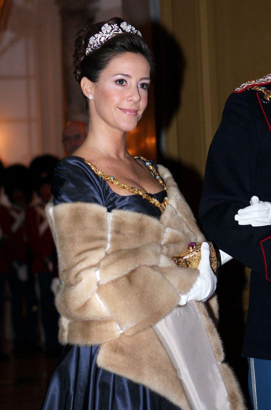 La princesse Marie de Danemark, le 1er janvier 2009