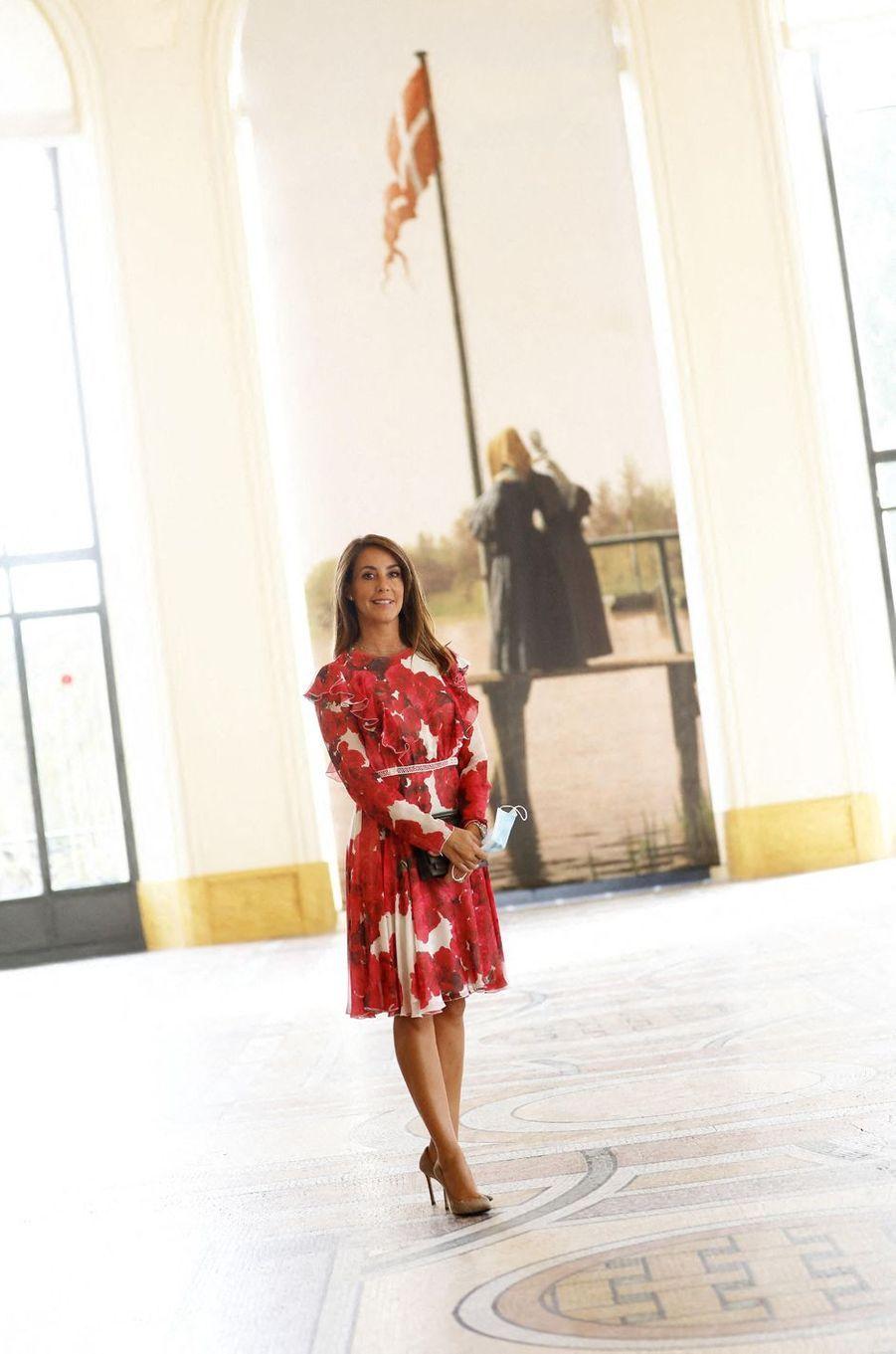 La princesse Marie de Danemark au Petit Palais à Paris, le 18 septembre 2020